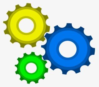 3d Gears Clip Art.