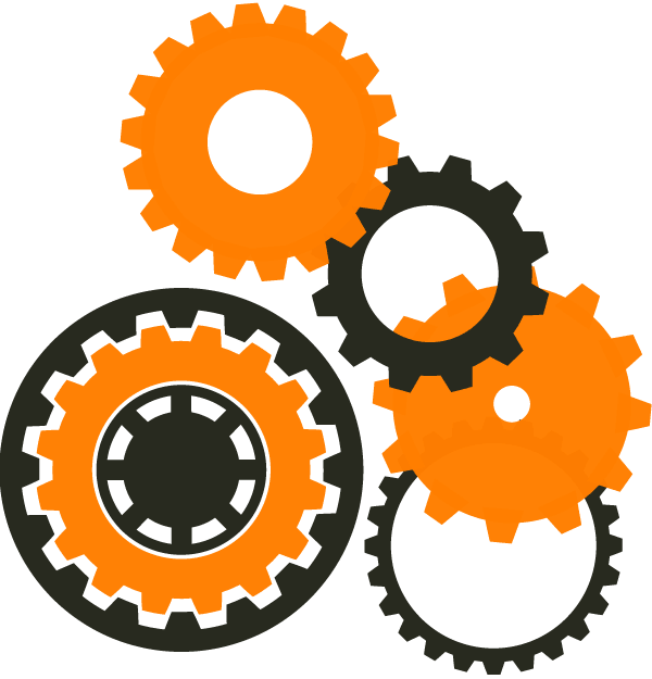 Gear Wheels Clipart.