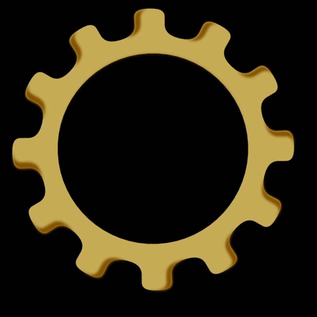 gear wheel clip art at clker vector clip art online royalty For.