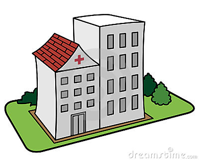 Clipart Krankenhaus.