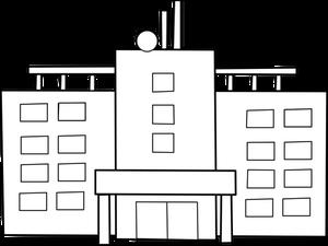 604 Gebäude kostenlose clipart.