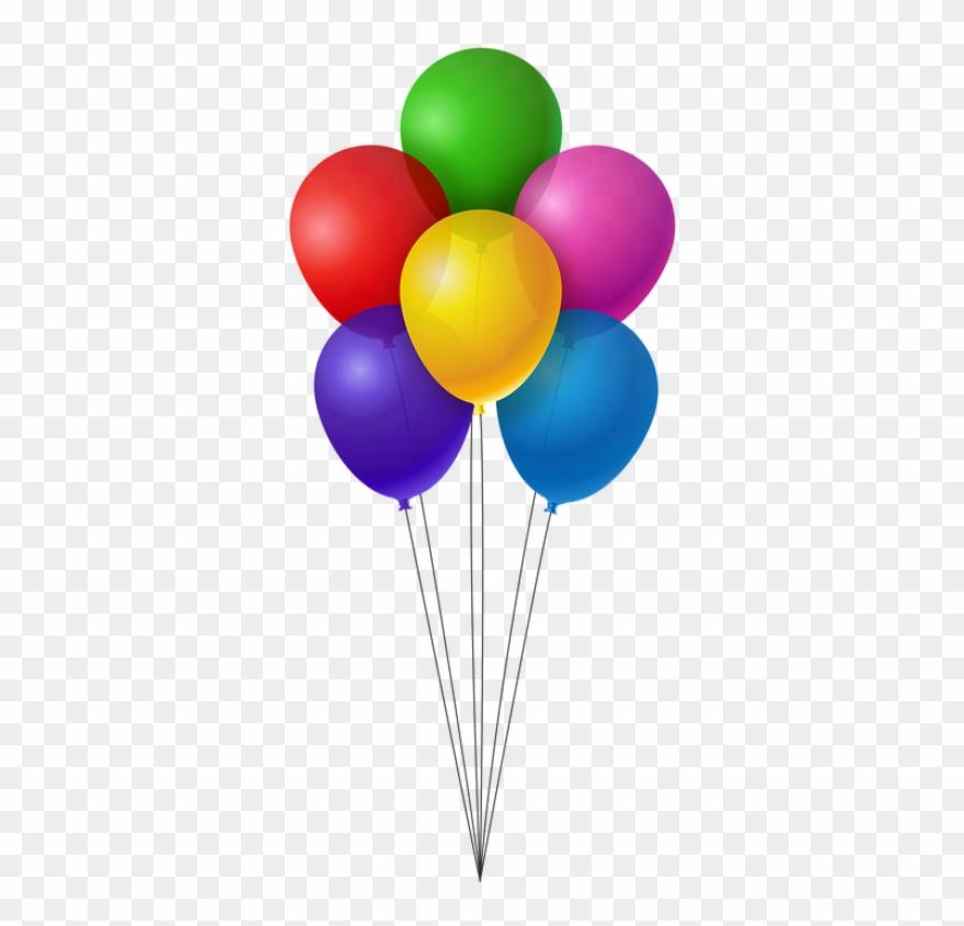 Ballons, Bunte, Geburtstag, F.