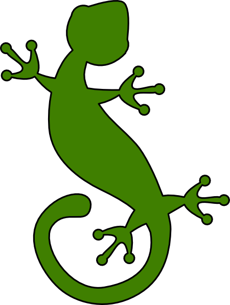Free Gecko Clipart.