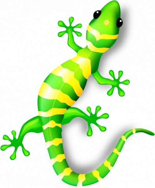 329 Gecko free clipart.
