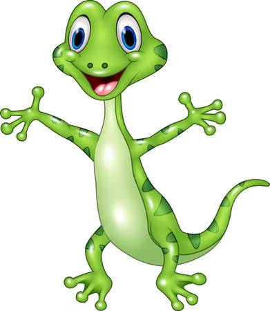 Gecko clipart 1 » Clipart Station.