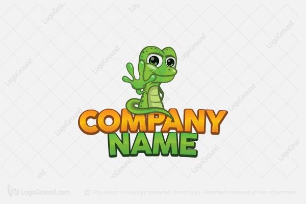Exclusive Logo 57898, Sticky Gecko Logo.