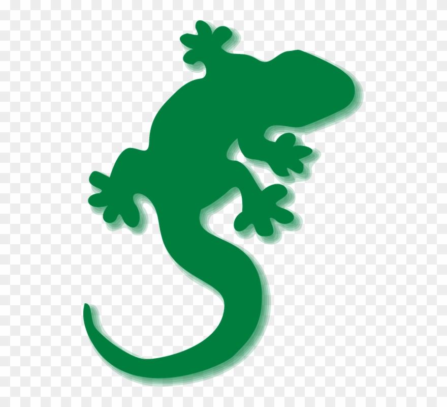Gecko Clipart Green Gecko.