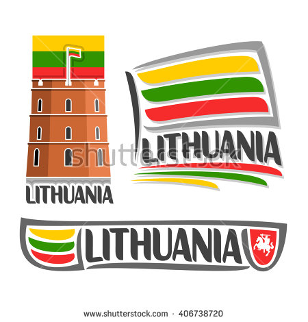 Gediminas Tower Clipart.