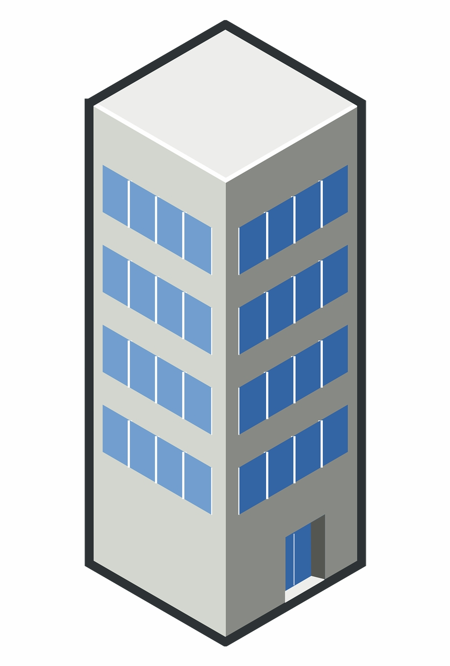 Gedung Png, Transparent Png Download For Free #5118133.