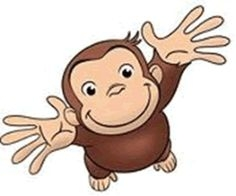 Curious George Birthday Clipart.