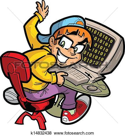 Computer geek Clipart Royalty Free. 995 computer geek clip art.