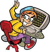 Computer geek Clipart Royalty Free. 968 computer geek clip art.