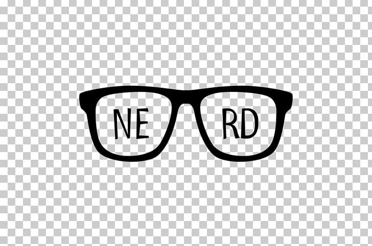 Nerd Logo Glasses Geek PNG, Clipart, Area, Black And White.