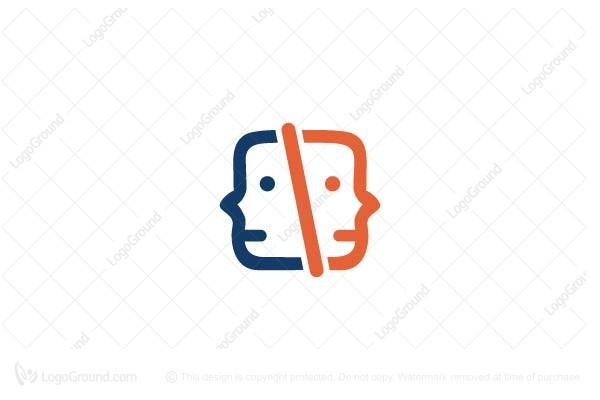 Exclusive Logo 34645, Two Geeks Logo.