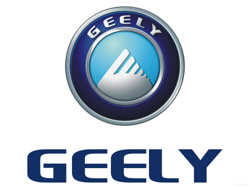 Chinese car brand Geely symbol.