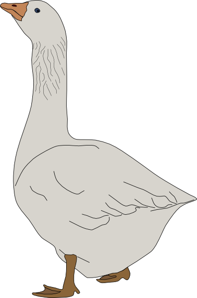 Clip Art Flying Geese Clipart.