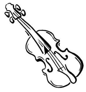 Geige clipart 2 » Clipart Station.