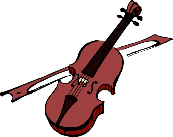 Geige clipart » Clipart Station.