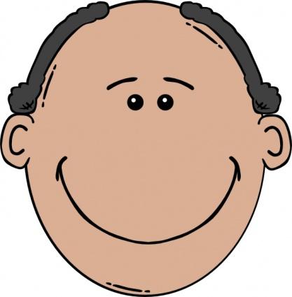 Mann Gesicht World Label ClipArt cliparts, kostenlose clipart.