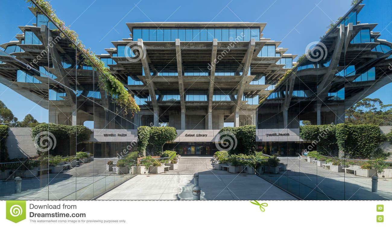 Geisel Library Editorial Photo.
