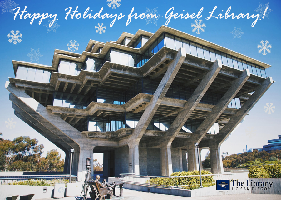 Library Blog » Geisel Library Building.