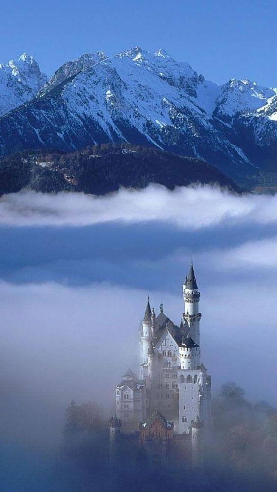 Neuschwanstein castle, Bavaria and Castles on Pinterest.