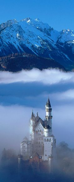 Neuschwanstein castle, Bavaria and Castles on Pinterest.