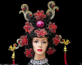 Chinese headdress.