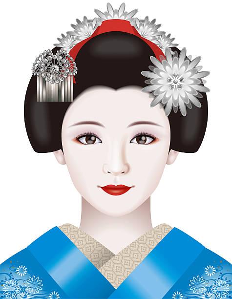 Geisha Quarter Of Kyoto Clip Art, Vector Images & Illustrations.