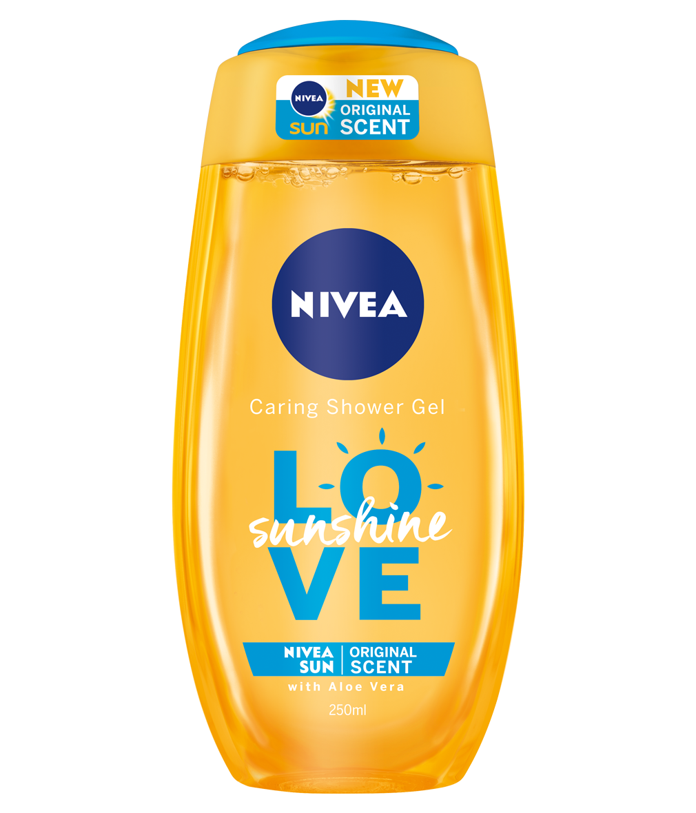 Sunshine Love Shower Gel.