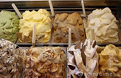 Gelato Display Stock Photos, Images, & Pictures.