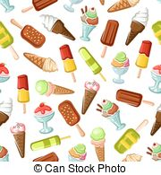 Gelateria Clipart Vector Graphics. 13 Gelateria EPS clip art.
