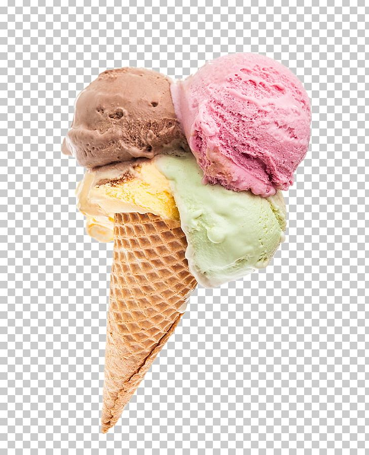 Ice Cream Cones Sorbet Gelato Neapolitan Ice Cream PNG, Clipart.