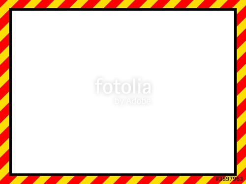 "gelb rot Schraffur Rahmen"" Stock photo and royalty."
