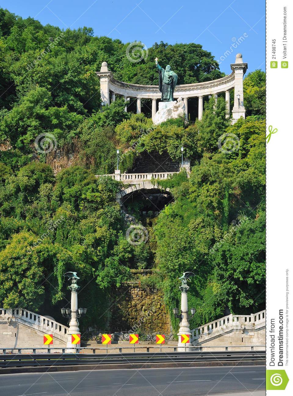 Gellert Hill In Budapest Royalty Free Stock Photo.