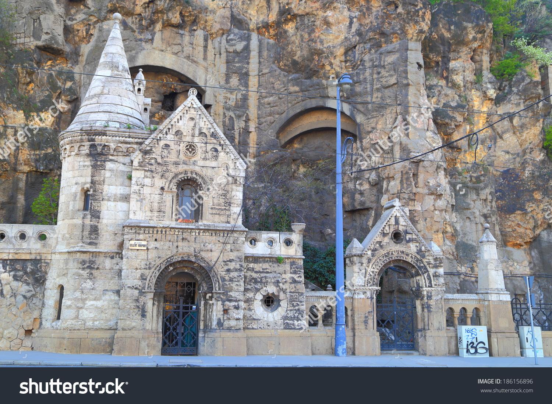 Gellert Hill Cave Church Budapest Hungary Stock Photo 186156896.