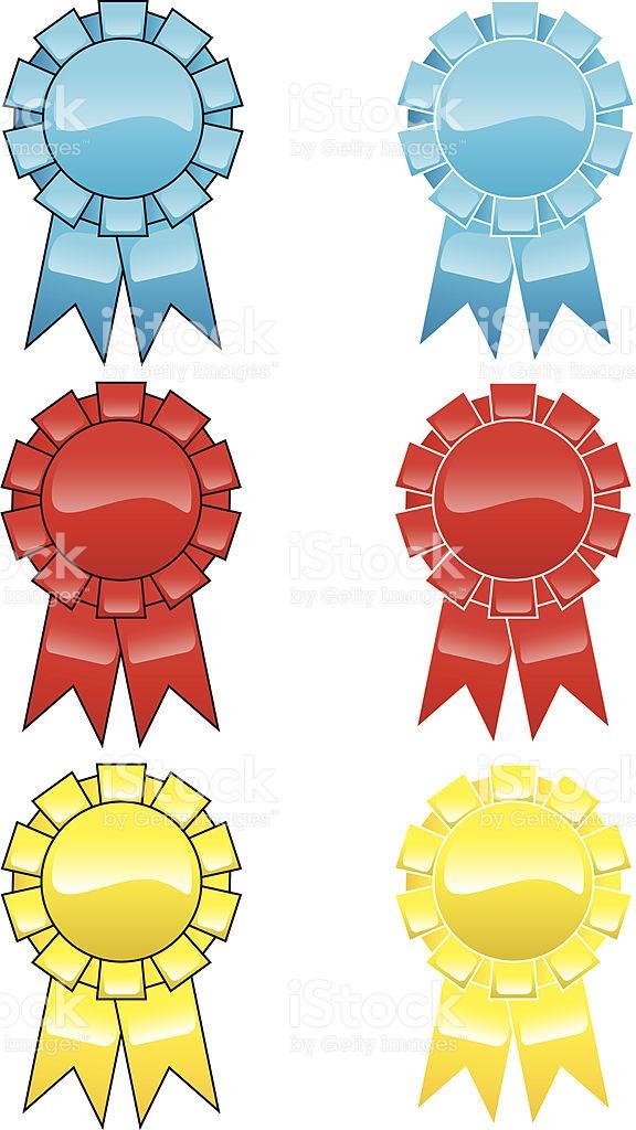 Gelled Ribbons stock vector art 109152260.