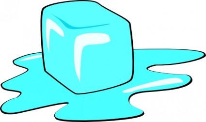 Clipart Cubo De Gelo.