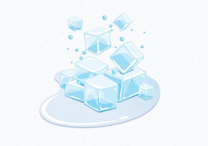Clipart De Cubo De Gelo.