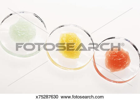 Stock Photography of Body Scrub Gels x75287630.