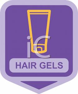 Sign For Hair Gels.