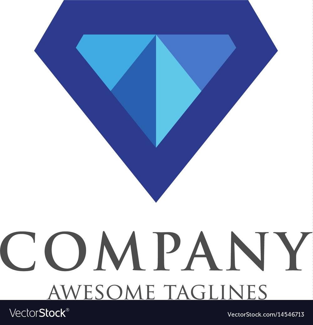 Diamond gem logo premium premium quality diamond.