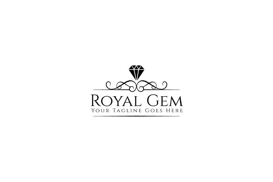 Royal Gem Logo Template.