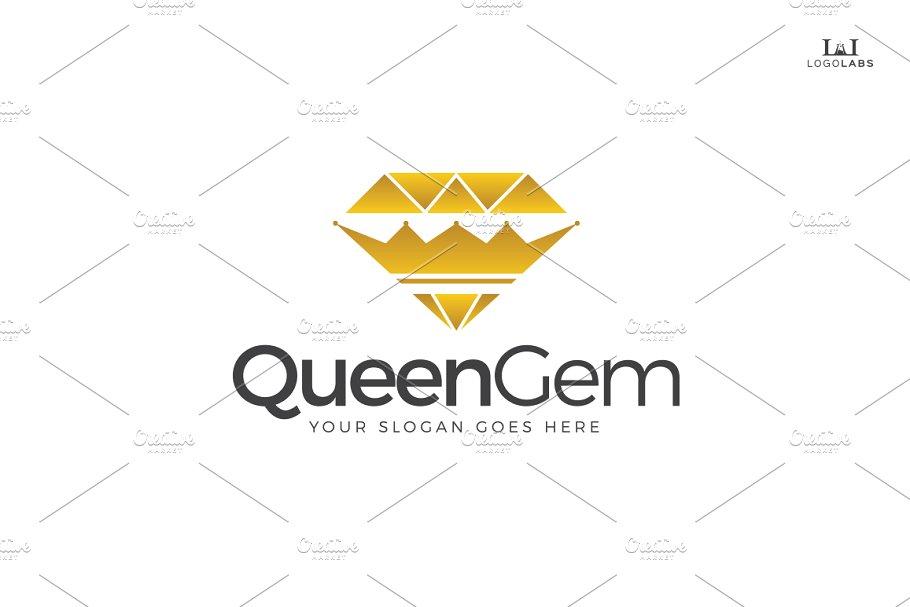 Queen Gem Logo.