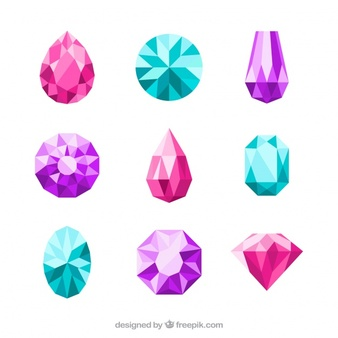 Gemstone Vectors, Photos and PSD files.