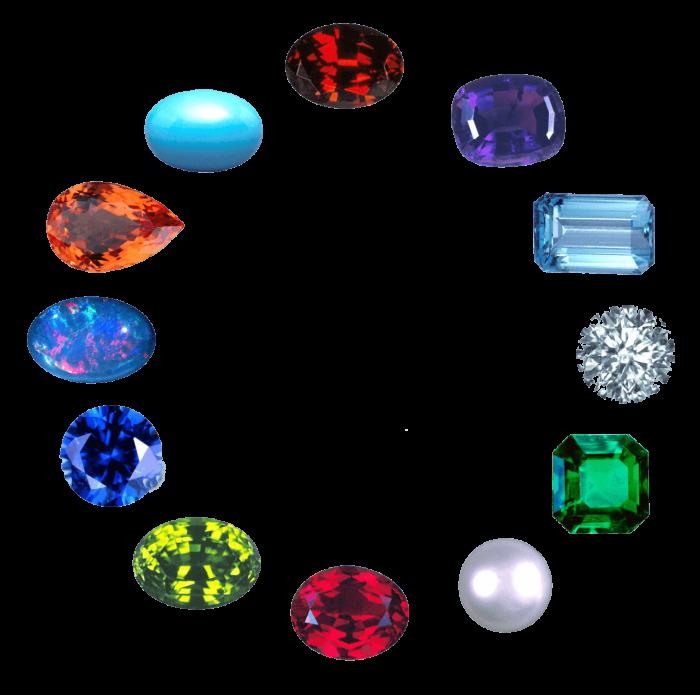 Gemstones Png Vector, Clipart, PSD.