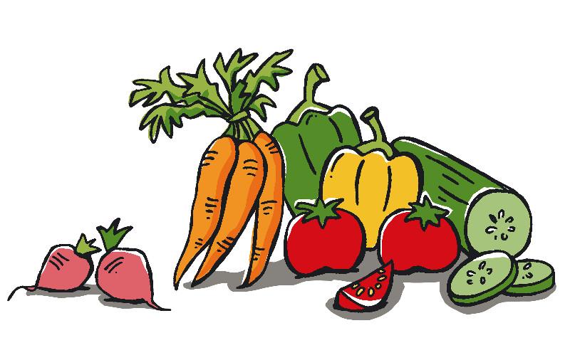 Gemüse Clipart.
