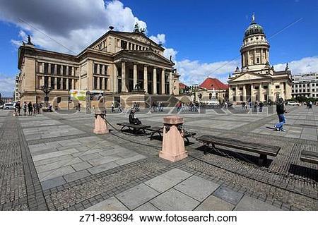 Stock Photo of Germany, Berlin, Gendarmenmarkt, Schauspielhaus.