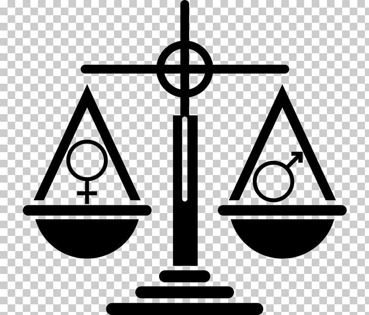 Gender equality Gender inequality Gender symbol, woman PNG.