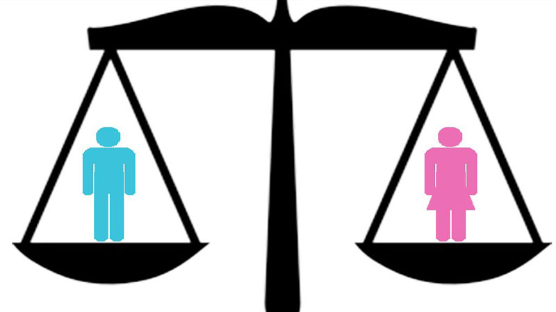 Scale clipart gender inequality, Scale gender inequality.